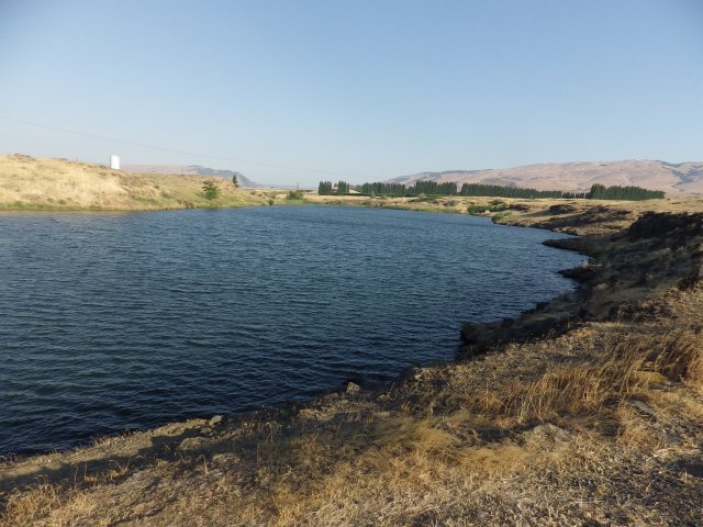 The only real Spearfish Lake in the country, outside The Dalles, Oregon, in Washington State. In Michigan we'd call it Spearfish Pond -- it's only 17 acres.