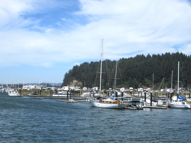 """When I named a book """"Winchester Harbor"""" I didn't realize there was a real one, located on the Oregon coast at Reedsport."""