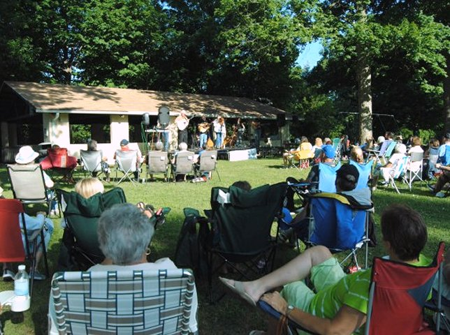 Another Music in the Park Thursday night.