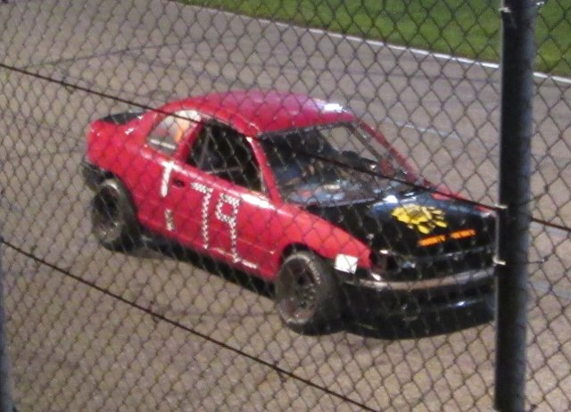 Todd after winning feature