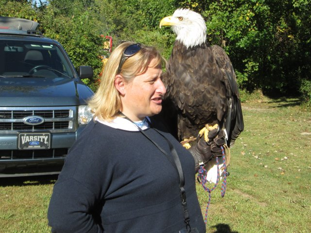 Eagle at Great Outdoors Youth Jamboree